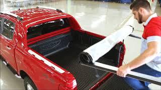 Download Ford Ranger Wildtrak Soft Roll Up Tonneau Cover Video