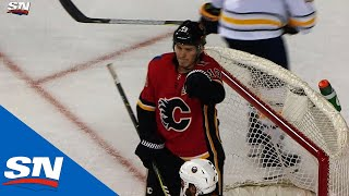 Download Flames' Tkachuk Finishes Off Great Passing By Lindholm, Gaudreau Video