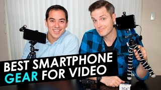 Download Best Smartphone Accessories for Live Streaming — Microphones, Tripods and Lenses Video