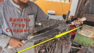 Download Making A Double-Bladed Knife For Home-Animal Raisers | Banana Tree Chopper Video