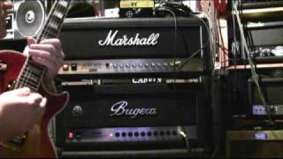 Download Bugera 1990 vs. Marshall JCM 900 Shoot-out TTK Style !!! Amp Review Demo NAMM 2010 '10 Video
