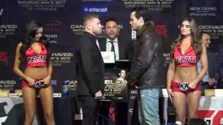 Download canelo vs chavez jr faceoff are you ready? EsNews Boxing Video