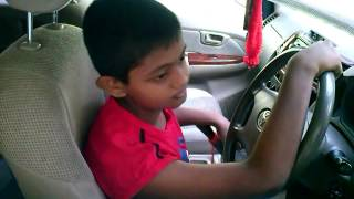 Download 10 years old kid driving a CAB Video