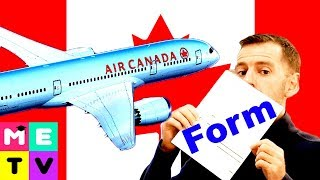 Download Arriving in Canada 😃😃😃 | Customs Form | How to Complete! Video