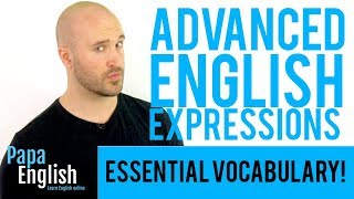 Download 5 English Expressions YOU NEED TO KNOW! - Advanced English Vocabulary Video