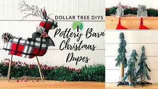 Download POTTERY BARN CHRISTMAS INSPIRED DOLLAR TREE DIYS Video
