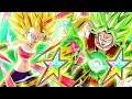 Download *NEW* PHY Kale + SSJ2 Caulifla AWAKENINGS At 100% COMPLETION! | Dragon Ball Z Dokkan Battle Video