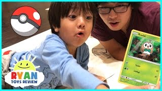 Download TOY HUNT Ryan ToysReview and First Time opening Pokemon Cards Game Video