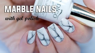 Download REALISTIC MARBLE NAILS - Easy Step by Step with Gel Polish Video