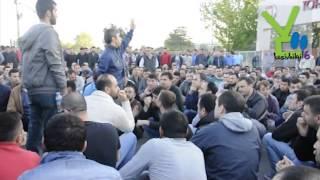 Download TOFAŞ işçileri de vardiya çıkışında eylem yaptı! Video