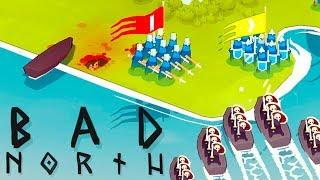 Download DEFENDING the VIKING Homeland - Bad North Gameplay Video