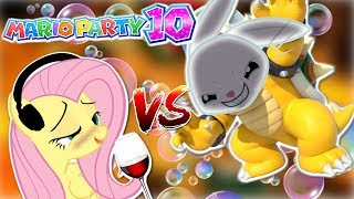 Download DRUNK Fluttershy plays Mario Party 10 🍉 | ANGEL BUNNY IS BOWSER [HILARIOUS] Part 2 Video