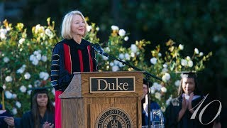 Download Opening Remarks from Duke's 10th Inauguration Ceremony Video