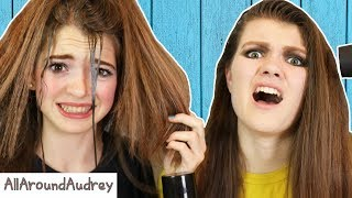 Download RECREATING 80S HAIRSTYLES! WE DID WHAT TO OUR HAIR?! / AllAroundAudrey Video