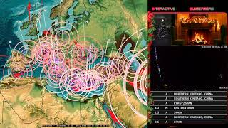 Download 12/12/2017 - Multiple M6.0+ earthquakes strike Middle East - New large EQ activity coming in days Video