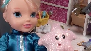 Download Elsa and Anna toddlers -car boot sale and fun with Barbie, Chelsea, Kristoff- Barbie episodes Video