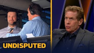 Download Skip Bayless: Brent Musburger has no reason to criticize Romo's broadcasting style | UNDISPUTED Video