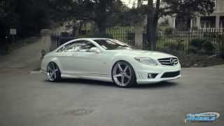 Download Mercedes CL65 AMG on Rennen R5 Concave Wheels by California Wheels Video
