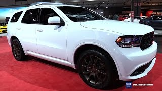 Download 2017 Dodge Durango R/T AWD - Exterior and Interior Walkaround - 2016 LA Auto Show Video