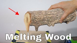 Download Is It Possible to Melt Wood in a Vacuum Chamber? The Wood Distillation Experiment Video