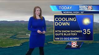 Download Blustery and cold for Friday, potentially record breaking cold this weekend Video