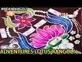 Download Beautiful 3D Lotus Rangoli Design Simple And Easy For Making Of 2017 colorful Video