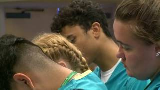Download High school students attend 'Nurse Camp' Video