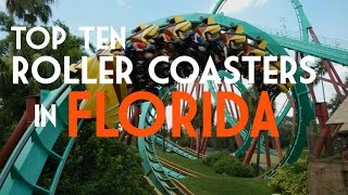 Download Top Ten Roller Coasters in Florida Video