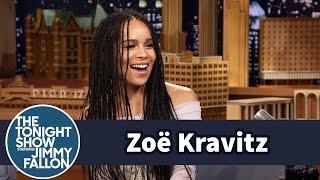 Download Zoë Kravitz's Famous Dad Picked Jimmy Up from the Airport Video
