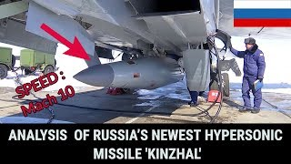 Download ANALYSIS OF RUSSIA'S NEWEST HYPERSONIC MISSILE 'KINZHAL' Video