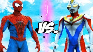 Download The Amazing Spider-Man VS Ultraman - EPIC BATTLE Video