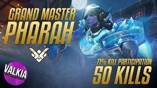 Download Grand Master Pharah [ 71% Kill Participation / 50K ] || Valkia Video