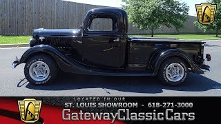 Download 1936 Ford Pick Up for sale at Gateway Classic Cars STL Video