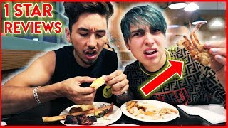 Download Eating at the WORST reviewed BUFFET w/ Brennen Video