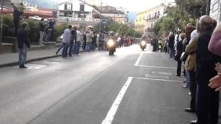 Download Giro d'Italia 2014 - Nocera Inferiore - Ciclista urla TERRONI Video