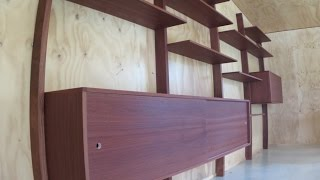 Download mid-century modern wall unit Video