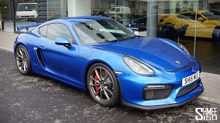 Download COLLECTING MY PORSCHE CAYMAN GT4 - Surprise New Shmeemobile! Video
