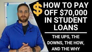 Download DEBT FREE!! WHAT IT TAKES TO PAY OFF $70,000 IN STUDENT LOANS FAST!!! (HONEST TRUTH) Video