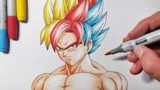 Download How To Draw a Super Saiyan Hair - Step By Step Tutorial! Video
