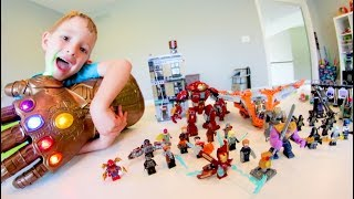 Download FATHER SON ULTIMATE LEGO BATTLE! / Avengers INFINITY WAR! Video