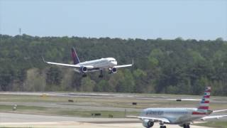 Download Spring Plane Spotting at Raleigh-Durham International Airport Video