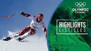 Download 5 Courageous moments in Olympic Alpine Skiing   Highlights Listicles Video