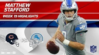 Download Matthew Stafford Leads Lions to Victory w/ Double TD Day! | Bears vs. Lions | Wk 15 Player HLs Video