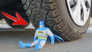 Download EXPERIMENT: CAR VS BATMAN Video