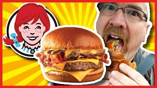 Download Wendy's Bacon Portabella Mushroom Melt on Brioche Review Video