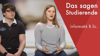 Download ″Das sagen die Studierenden″ | Informatik B.Sc. Video