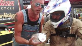 Download Moonshiner Josh Owens' Famous Racing Fuel at the Super Hooligans in Sturgis Video