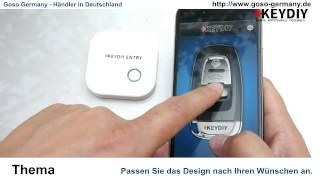 Download Universal Funkschlüssel 315/433MHz Bluetooth KD900 Video