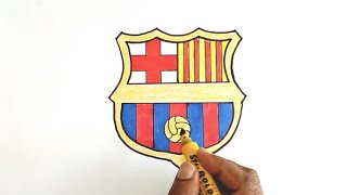 Download How to Draw the FC Barcelona Logo Video