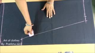 Download सिंपल सलवार कटिंग एवं मार्किंग || Simple Salwar Marking & Cutting Video